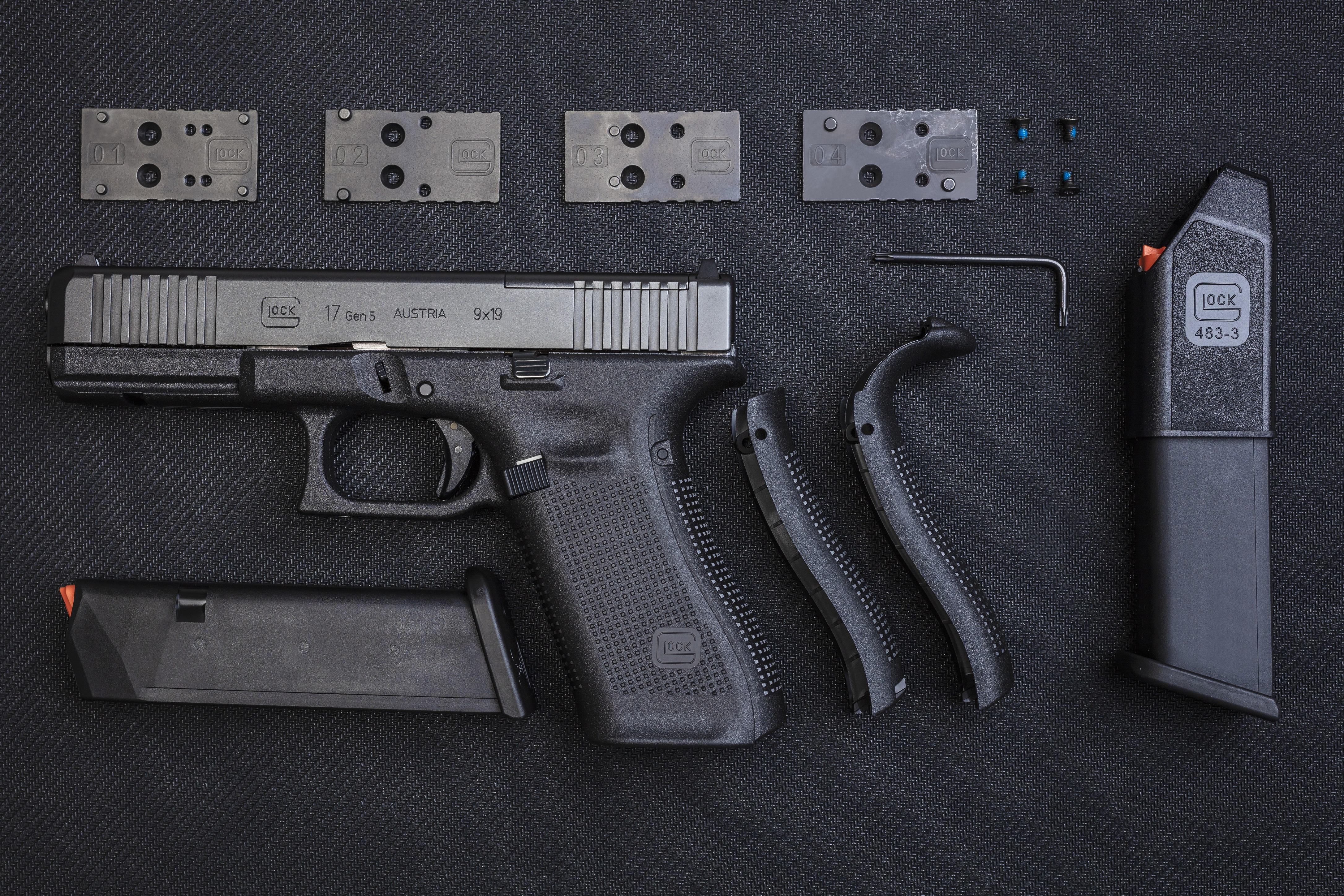 Samonabíjecí pistole Glock 17 Gen5 MOS FS, 9 mm