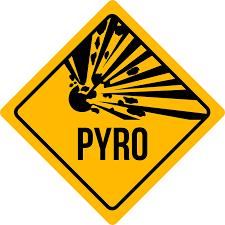 Sebeobrana, pyrotechnika